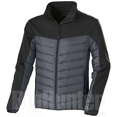 Giacca Norvegia Grey-Black