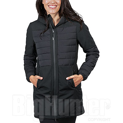 Giacca Donna Impermeabile Canadian Black