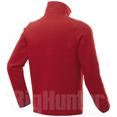 Giacca Softshell Impermeabile uomo 2 Layer Tin Red