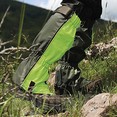 Ghette caccia Kalibro Migra Hunter Green HV Button Brand