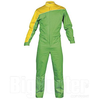 Tuta da lavoro Yellow-Green