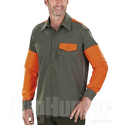 Overshirt Kalibro Tracker Green Orange HV