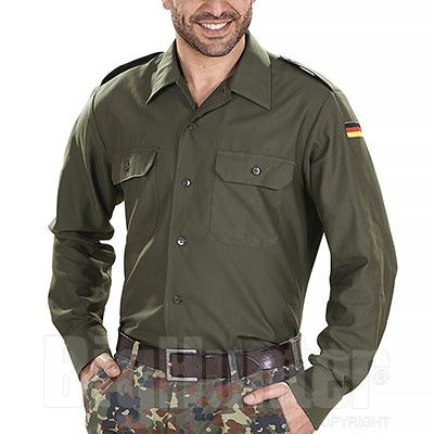 Camicia uomo Germany Green