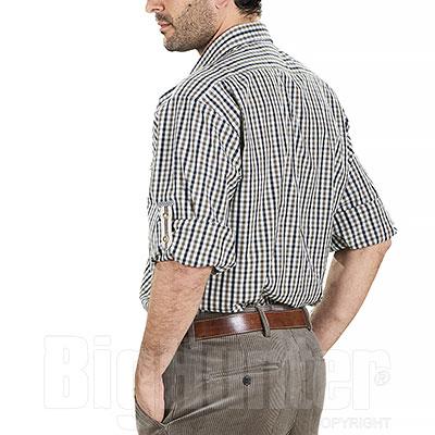Camicia uomo Alpen Hunter Edelweiss