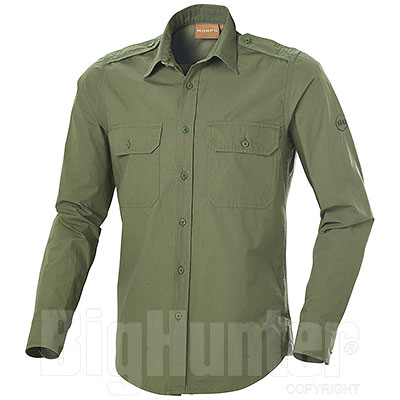 Camicia NA43 Fashion Two Pockets Green