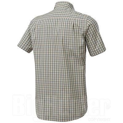 Camicia uomo Beretta Trail Button Down Green Check M/C