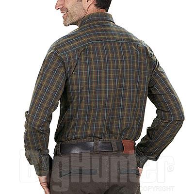 Camicia uomo Seeland Kensington Duffel Green Check