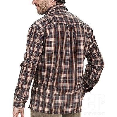 Camicia uomo Kalibro Over Shirt Check Red