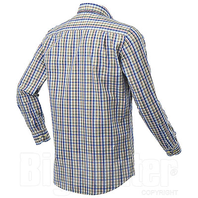 Camicia uomo Beretta Tom White Check