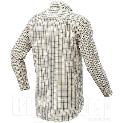Camicia uomo Beretta Tom Beige Check
