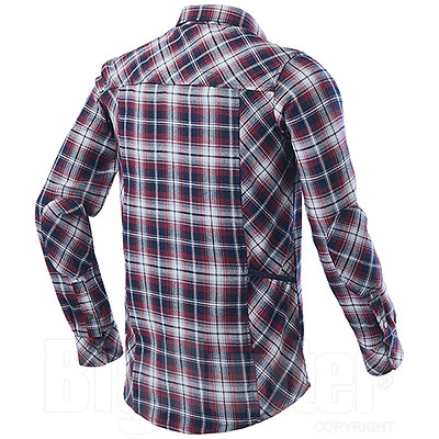 Camicia uomo Diadora Utility Red Blu Check