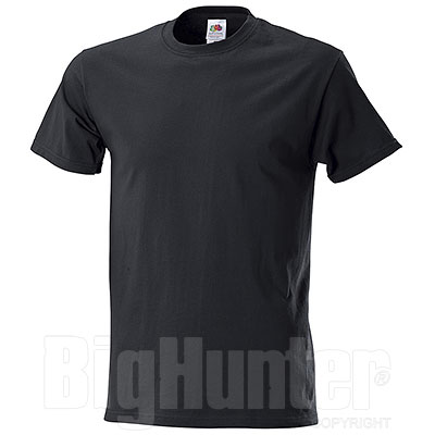 T-Shirt Fruit of the Loom Black