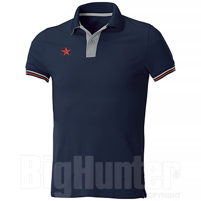 Polo Piquet Star U.S. Army Blu