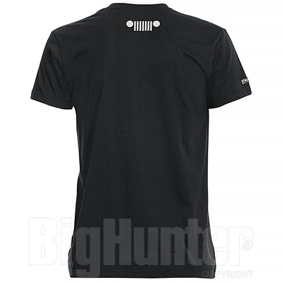 T-Shirt uomo Jeep Authentic Premium Black