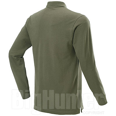 Polo manica Lunga uomo  New Zeland Army Green