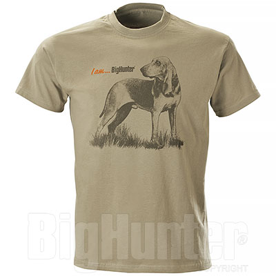 T-Shirt Segugio I am...BigHunter Beige