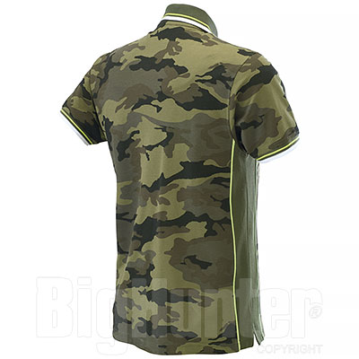 Polo Piquet Camouflage-Army Green