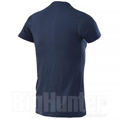 T-Shirt Serafino Blu Denim