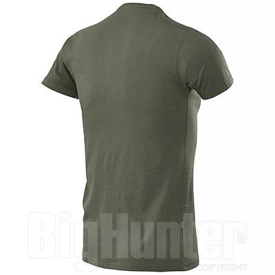 T-Shirt Serafino Army Green