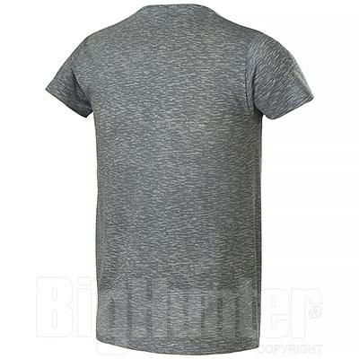 T-Shirt uomo Fire Effect Grey