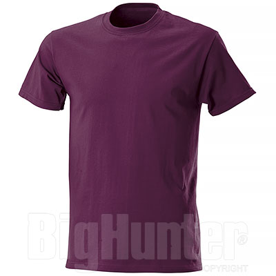 T-Shirt Fruit of the Loom Bordeaux