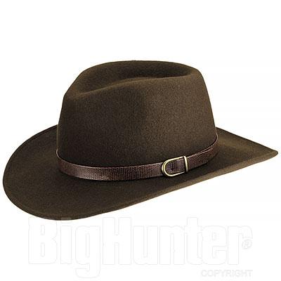 Cappello Kalibro Feltro Marrone