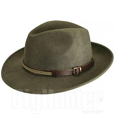 Kalibro Olive Felt hat