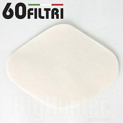 Set 60 Pezzi Filtri di Ricambio per Mascherine Facciali
