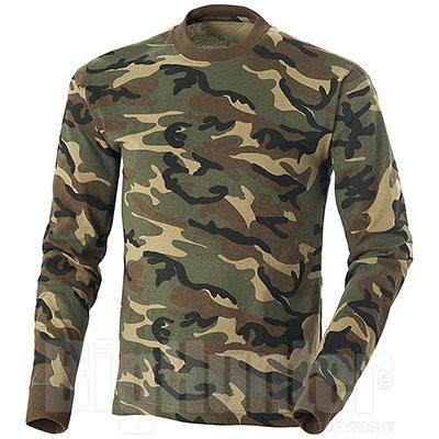 Maglietta Manica Lunga Woodland