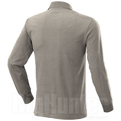 Polo manica lunga Fashion Evò Two Pockets Beige