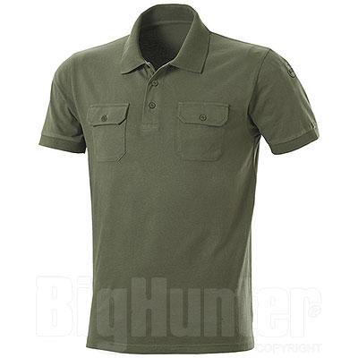 Polo manica corta Fashion Evò Two Pockets Green