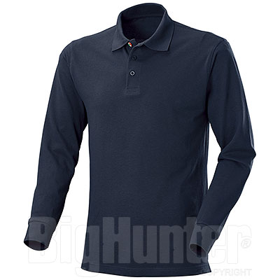 Polo Manica Lunga  New Zeland Navy