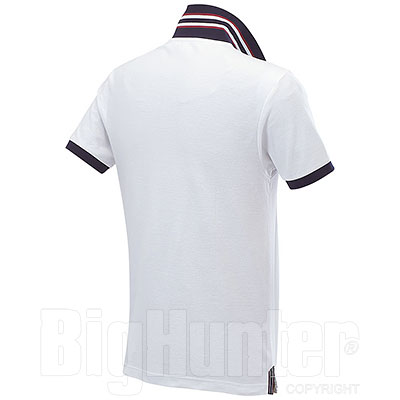 Polo piquet Force White-Navy