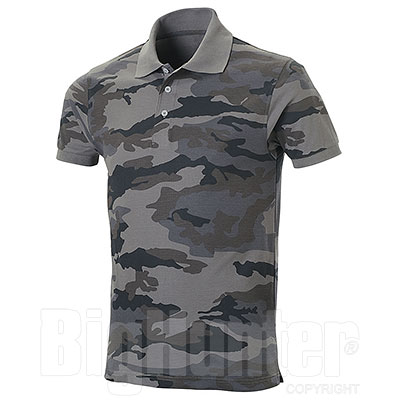 Polo piquet Mission Camouflage Grey