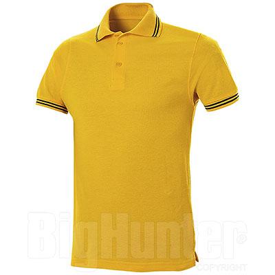 Polo Piquet Senna Yellow-Navy
