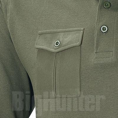 Polo piquet M/L One Pocket Army Green