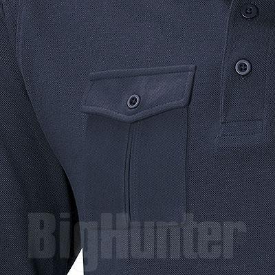 Polo piquet M/L One Pocket Navy
