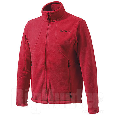 Giacca Beretta Active Track Polartec Thermal Pro Tango Red