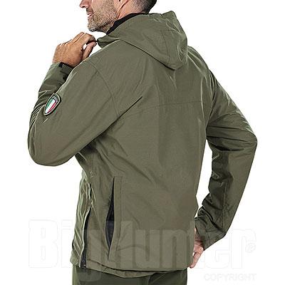 Giacca uomo Kalibro Anorak Waterproof con Cacciatora Green