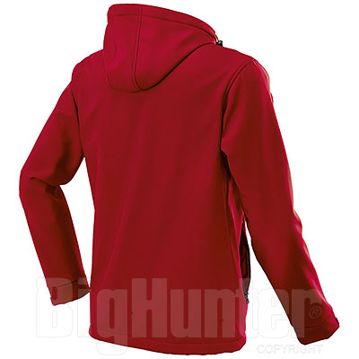 Giacca Softshell uomo Innsbruck Red