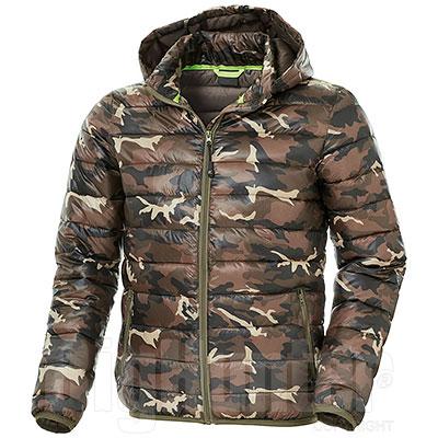 Giacca Imbottita uomo Vinus Camouflage Green