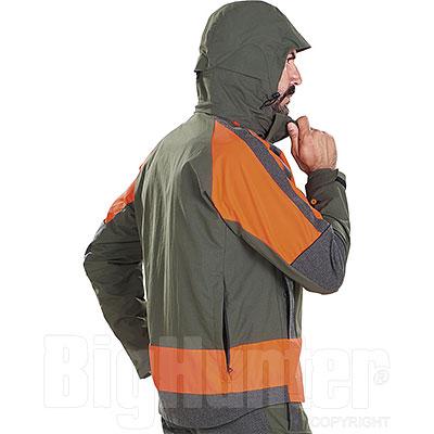 Giacca da caccia Beretta Thorn Green Orange GTX