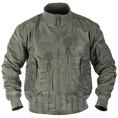 Bomber US OD Green Tactical Flight Jacket