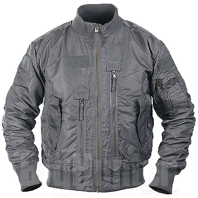 Bomber US Urban Grey Tactical Flight Jacket