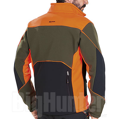 Giacca caccia Kalibro Knit Evò Softshell High Visibility