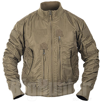 Bomber US Dark Coyote Tactical Flight Jacket