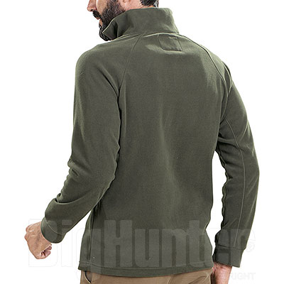 Micropile Beretta Half Zip Fleece Green