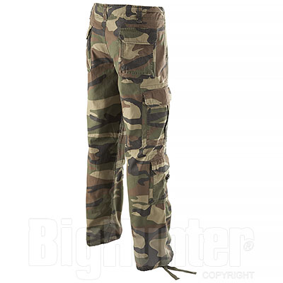 Pantaloni uomo Airborne Woodland