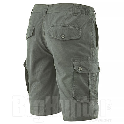 Bermuda uomo Multipockets Green
