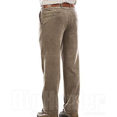 Pantaloni Kalibro Velluto Elasticizzati Duca Visconti M. Beige